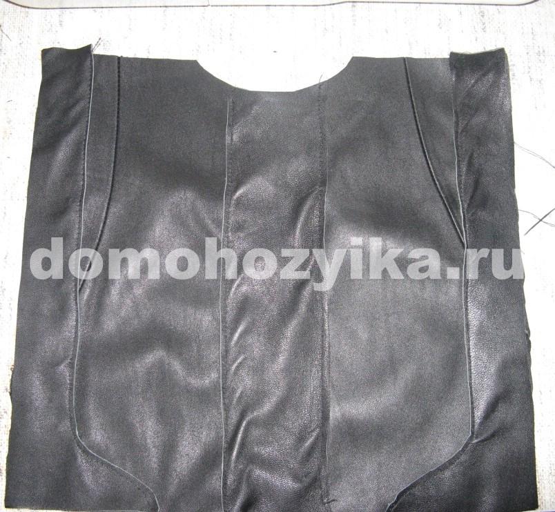 сумка кожаная женская выкройка.