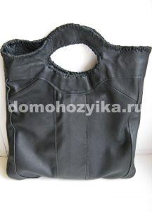 Кожаная сумка «пакет»