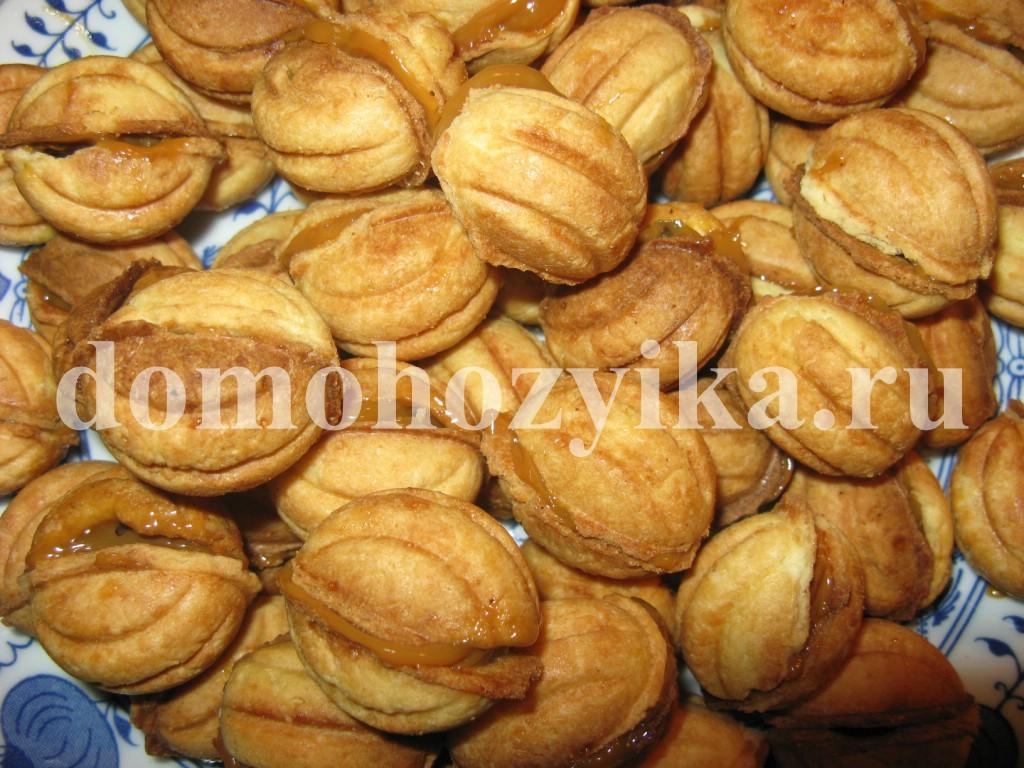 Фото печенья с начинкой из сгущенки и
