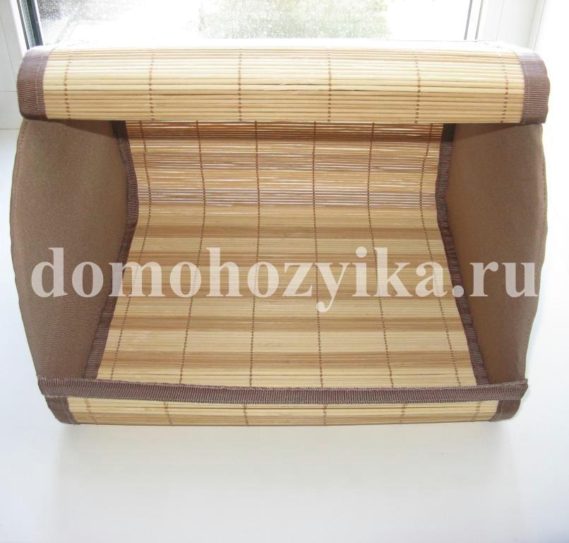 Хлебница из бамбуковых салфеток своими руками 66