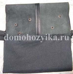 Описание: как сшить кожаный кошелек выкройка.