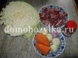 Бигус со свежей капусты