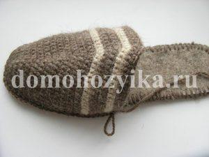 Мужские домашние тапочки-мокасины IMG_4433-300x225