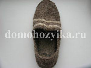 Мужские домашние тапочки-мокасины IMG_4438-300x225