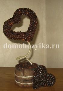 Кофейное дерево «Сердце»
