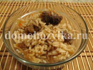 Тушеная капуста рецепт с рисом.