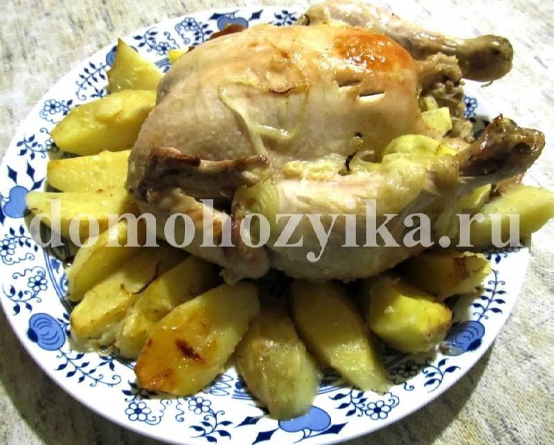 Рецепт приготовления картофеля в горшке в духовке