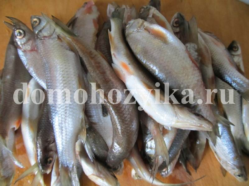 Что приготовить из мелкой рыбы