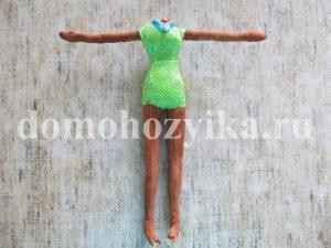 Кукла своими руками Танцующая индианка Анпейту