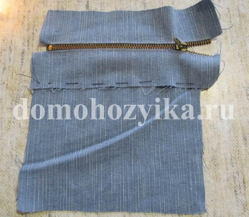 Сумка из джинсовой ткани выкройка.