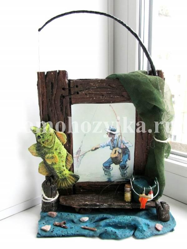Рамка для рыбака своими руками 23