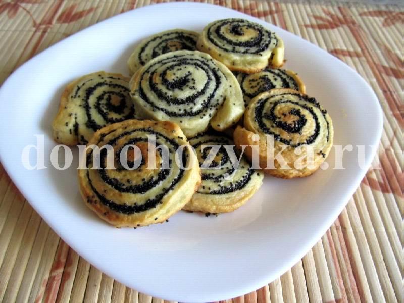 Постное печенье с маком рецепт