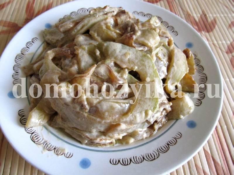 кабачок желтоплодный рецепт приготовления