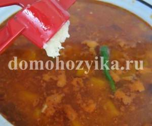узбекский бульон для лагмана