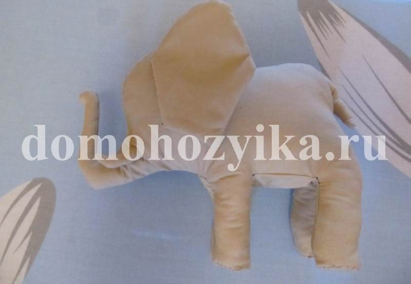 Слон своими руками сшить
