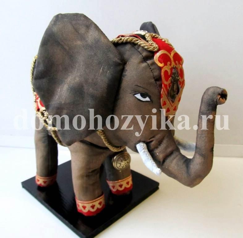 Слон своими руками фото