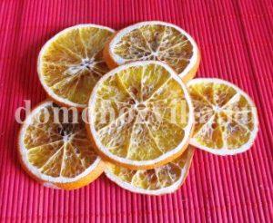 Как засушит апельсины для декора