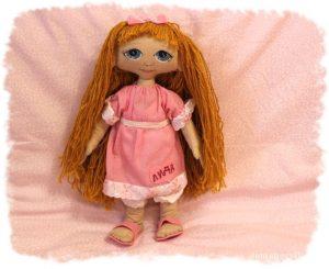 Кукла своими руками «Лида»
