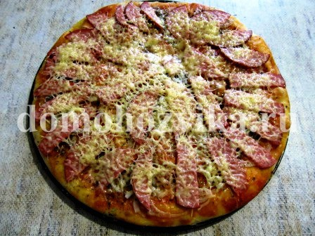 тесто для пиццы тает во рту рецепт