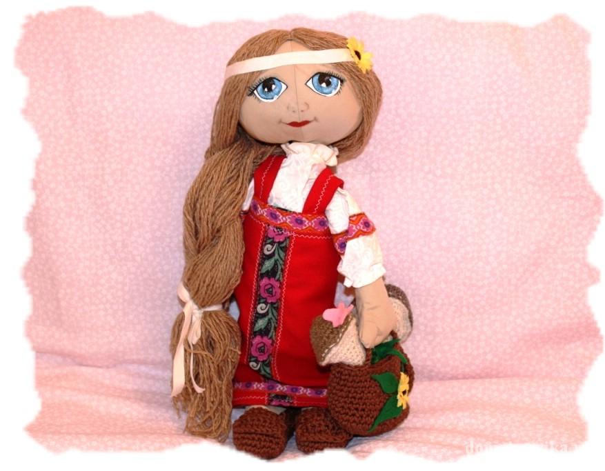 Народные куклы своими руками из ткани мастер класс