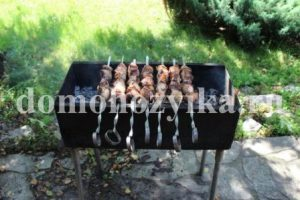 Шашлык на айране-рецепт приготовления с фото