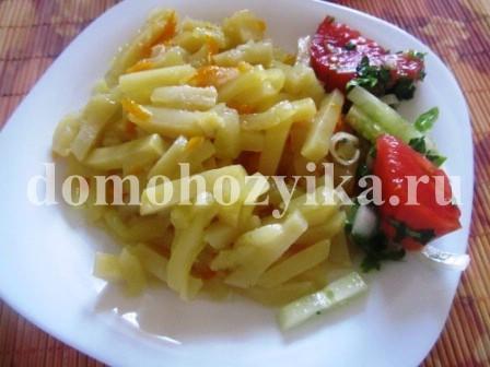 овощное рагу с картошкой в мультиварке рецепты
