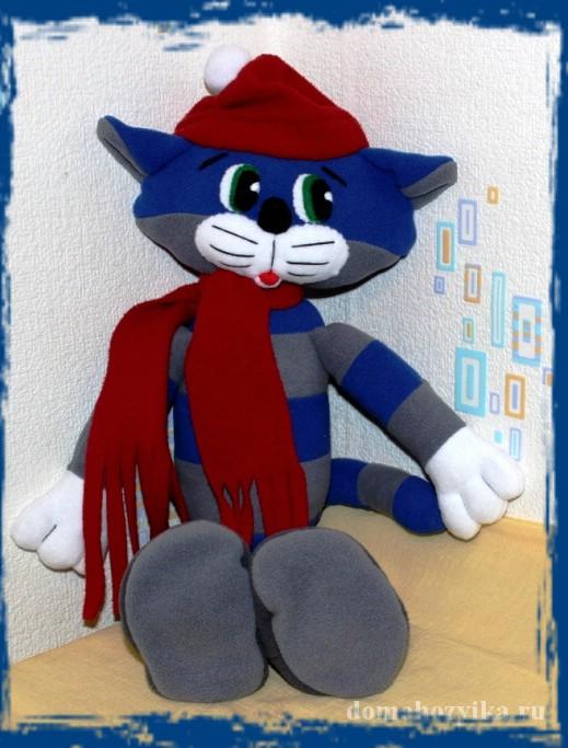 Кот матроскин игрушка своими руками