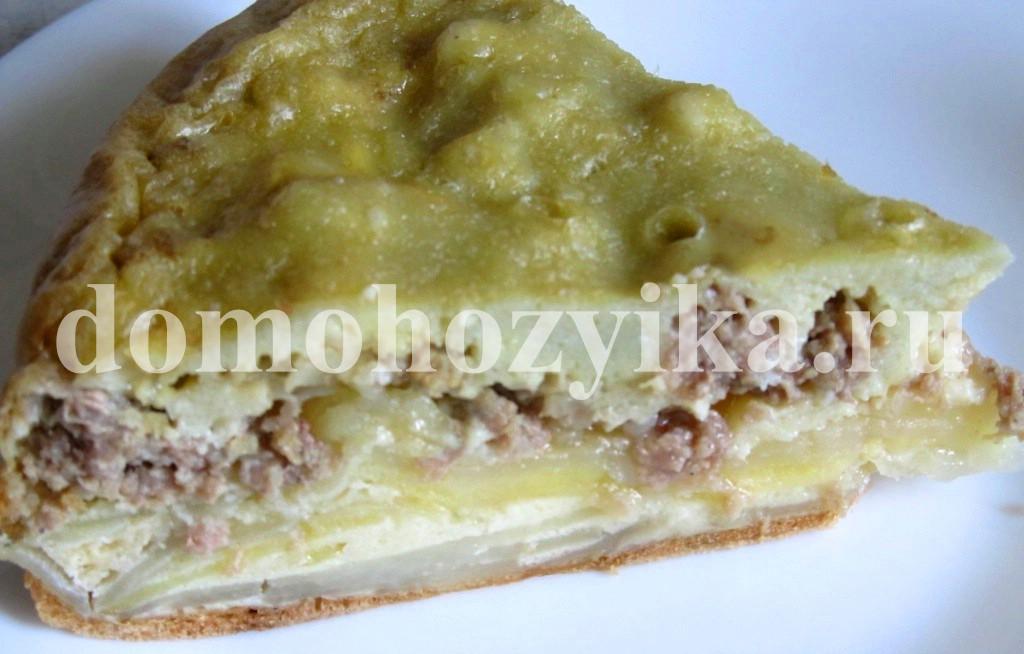 пирог с картофельный в мультиварке рецепты с фото