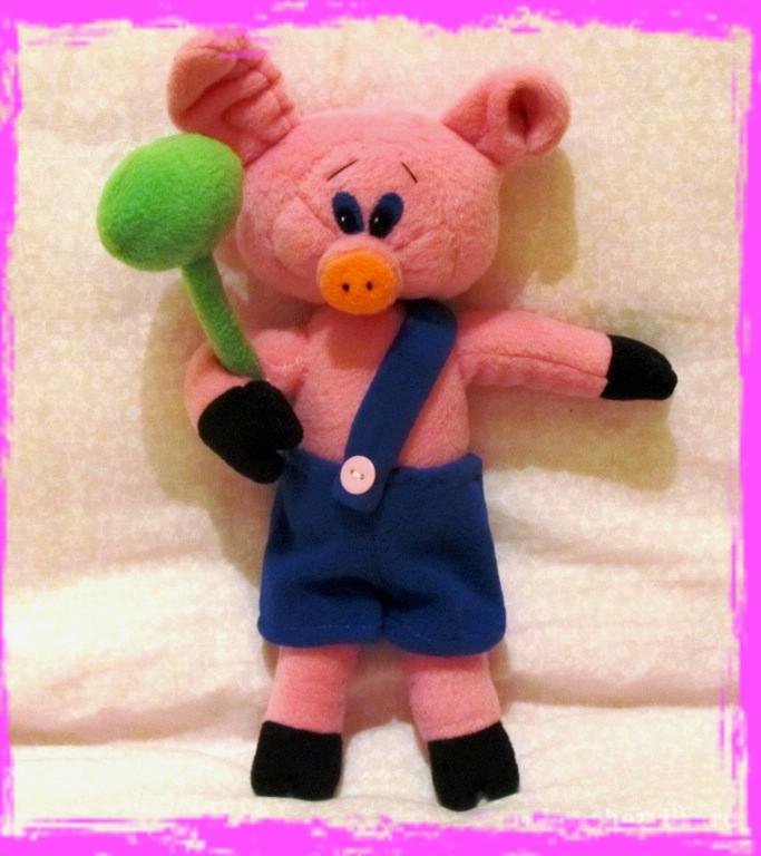 Пятачок свиньи своими руками 55