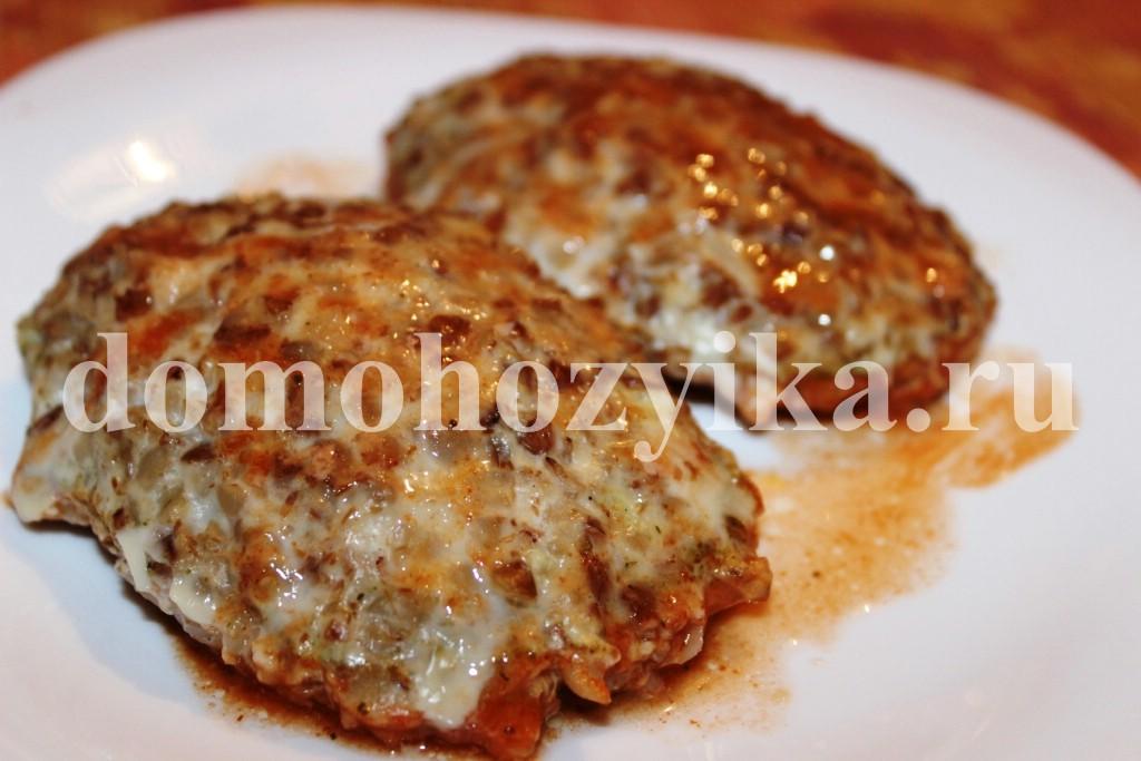 Гречаники с куриным фаршем рецепт