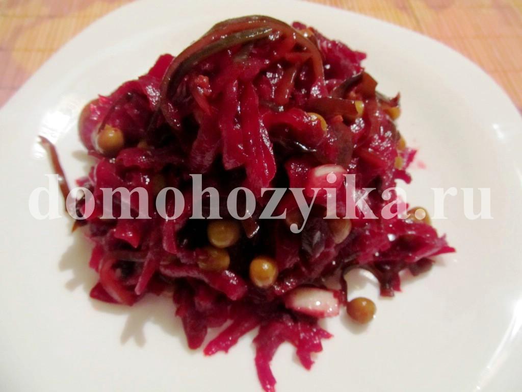 салат морской рецепт с фото с курицей