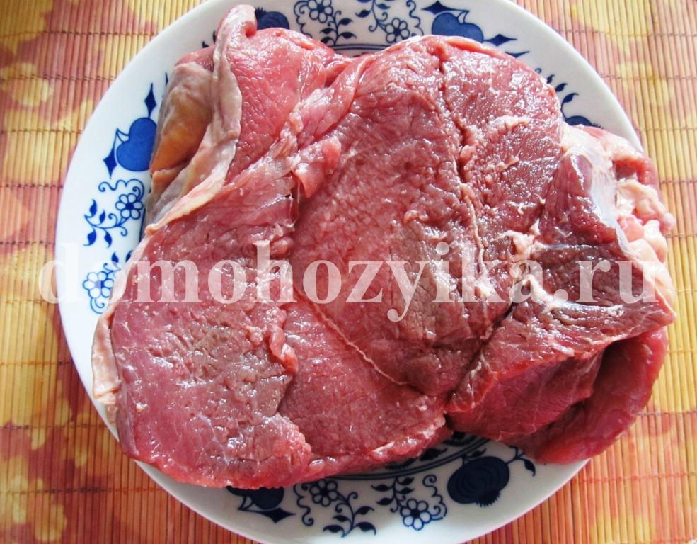 запечь мясо в мультиварке рецепт с фото