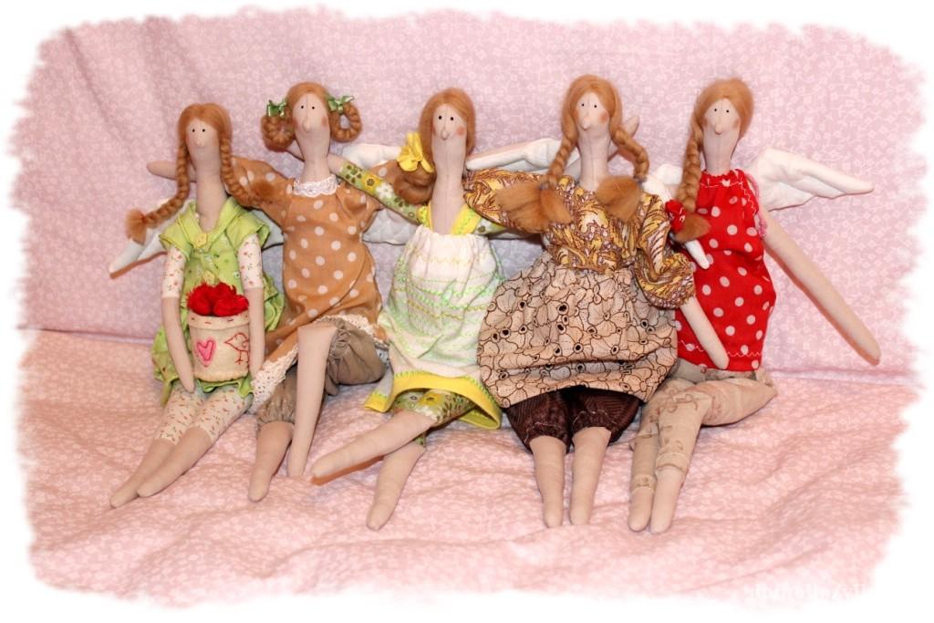 Шьем куклу из ткани своими руками