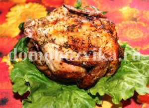 Курица запеченная в духовке с розмарином