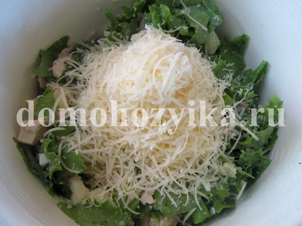 рецепт салата с ананасом сухариками фото