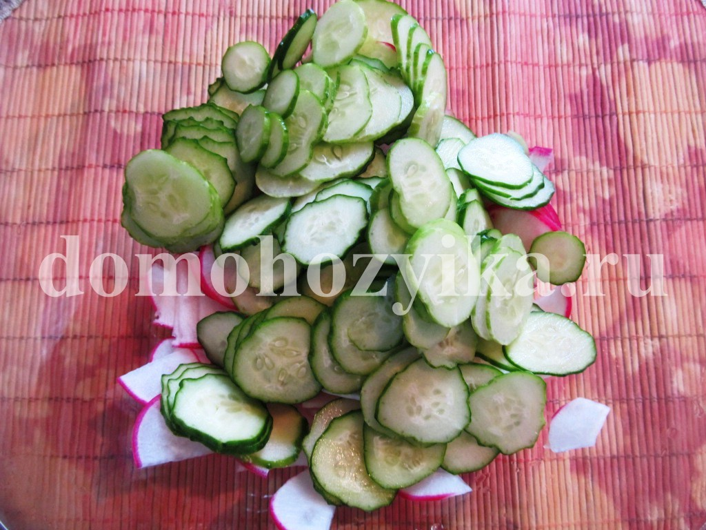 салат из фасоли с овощами рецепт с фото