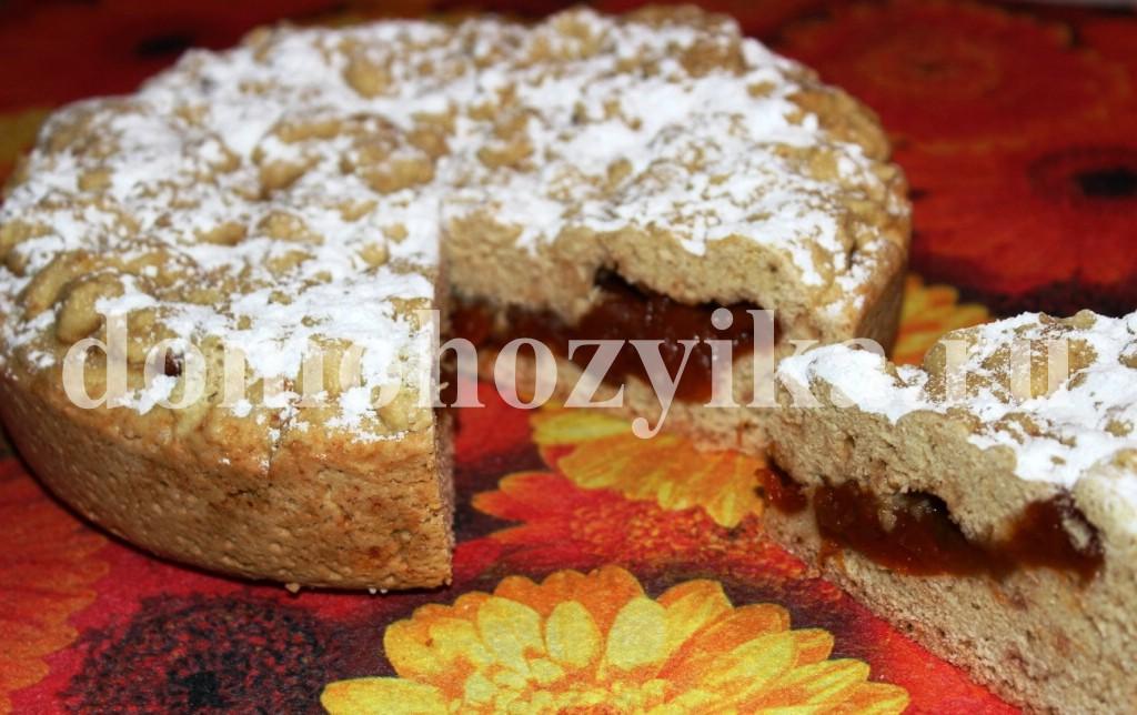 Пирог вареньем мультиварке рецепты фото