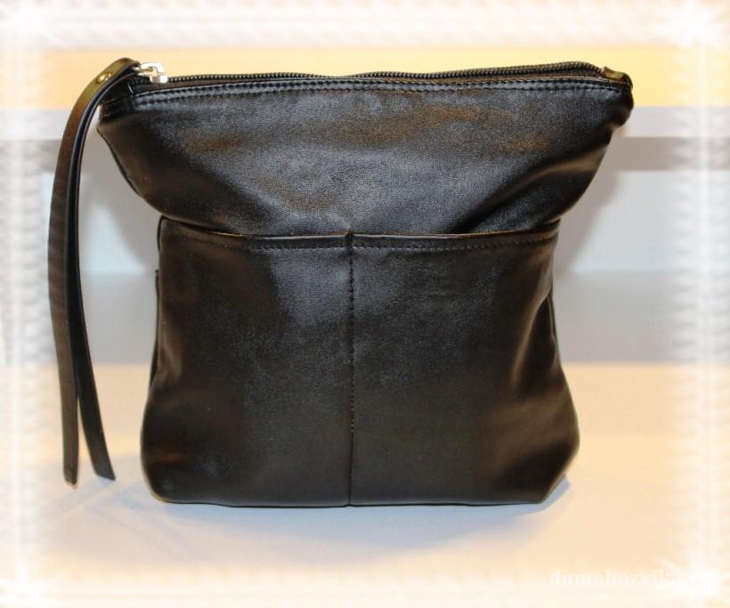 7f972db83dd4 Сумка из кожи своими руками, сшить ее очень просто. Маленькая сумочка  всегда удобна для различных мелочей. Я сшила сумочку с внешними карманами с  двух ...