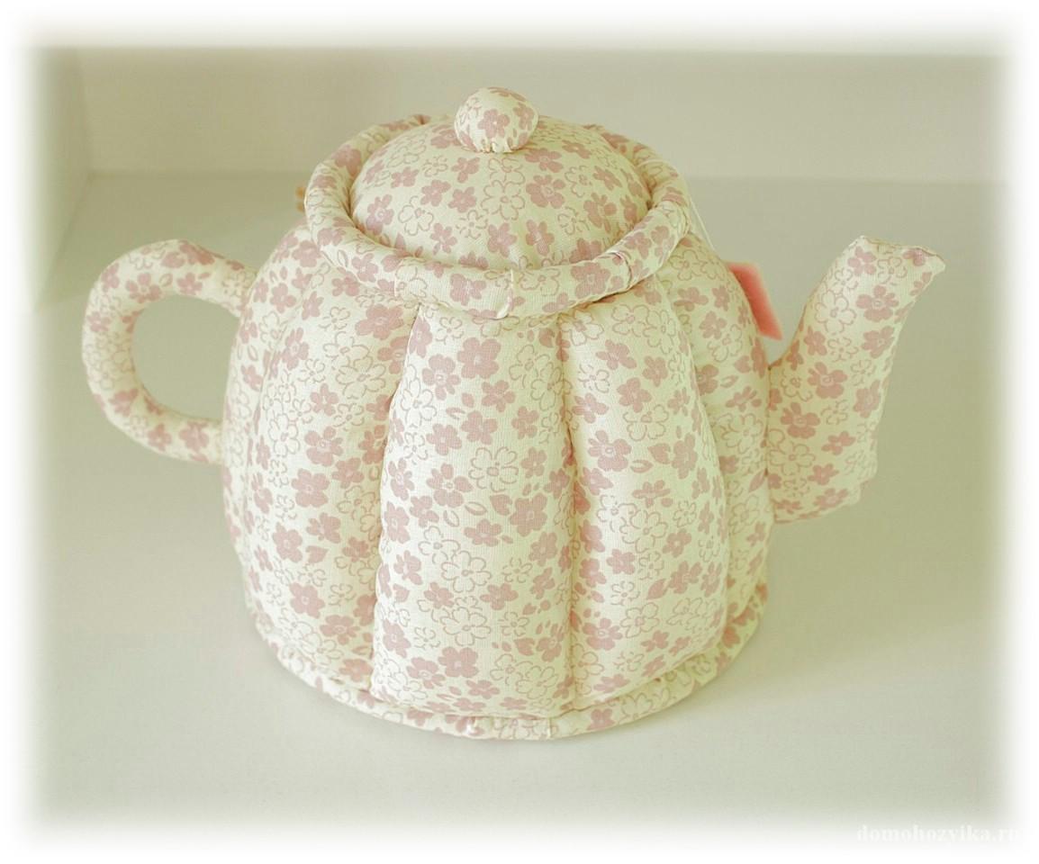 Текстильный чайник своими руками 438