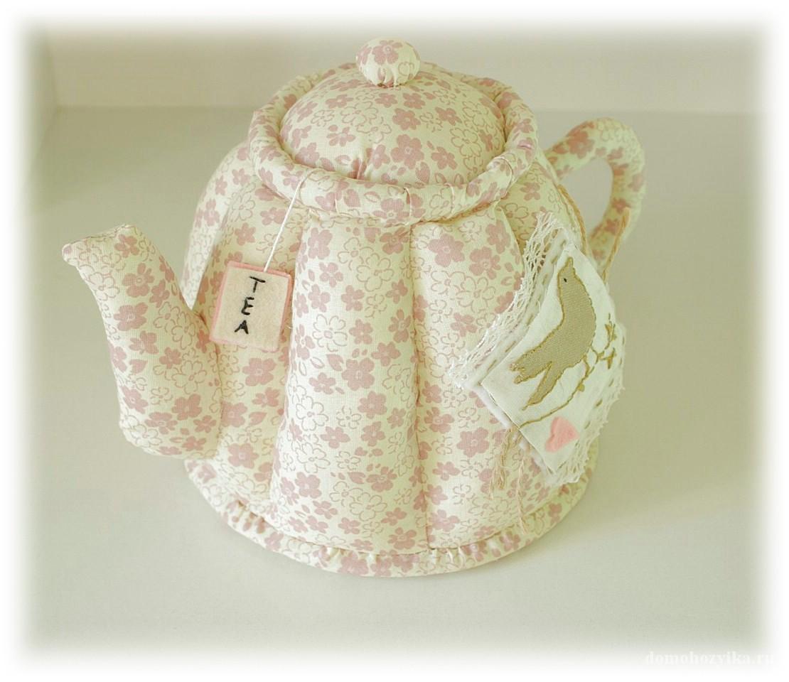 Текстильный чайник своими руками 971