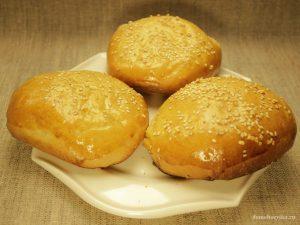 Булочки для гамбургеров в хлебопечке