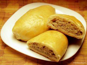 Пироги с фаршем и картошкой