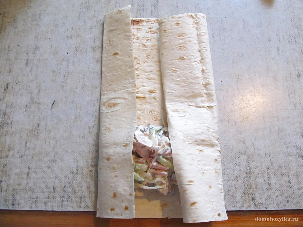 Шаурма в домашних условиях - рецепт с фото Чудо-Повар