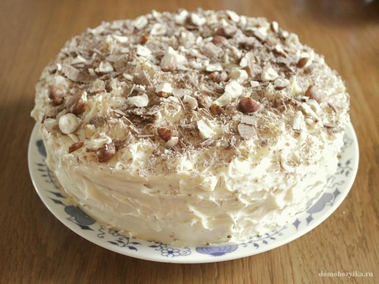 Торт в мультиварке фото