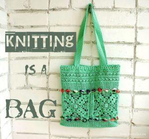 Вяжем модную летнюю сумку крючком